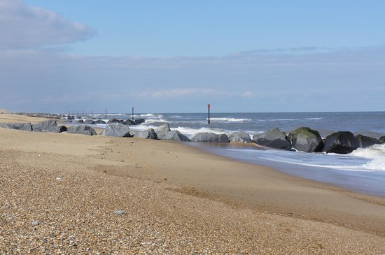 Horsey, UK: Unspoilt coastline (1)