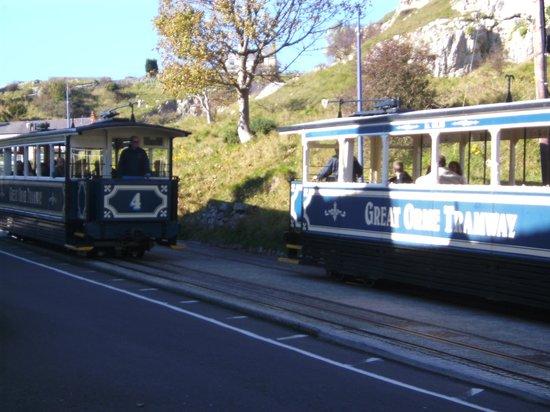 Craig-Ard Hotel: great orme trams