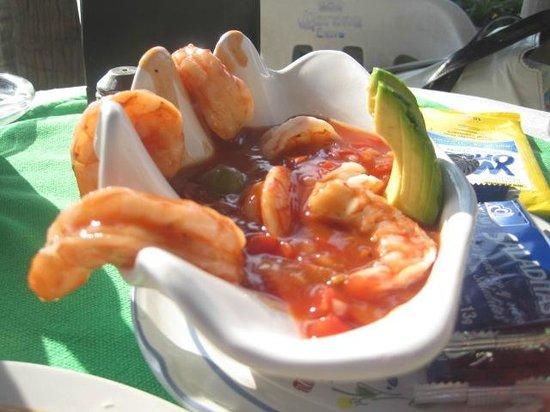 Playa la Ropa: Appetizers at Elvira's