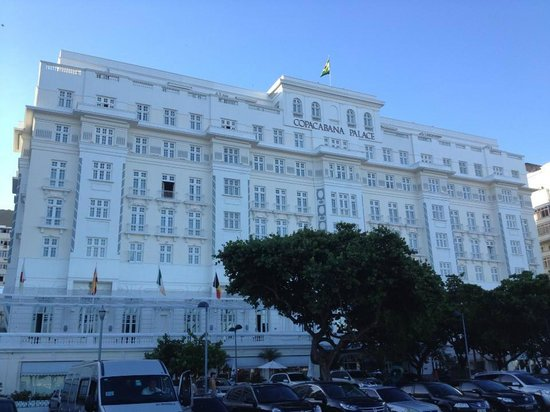 Belmond Copacabana Palace: The hotel from the front
