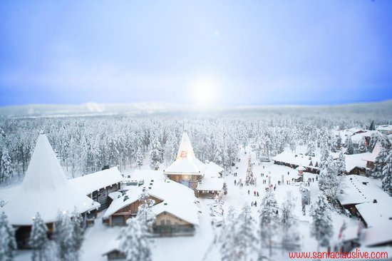 Rovaniemi, Finlandia: Santa Claus Office is located at the heart of Santa Claus Village