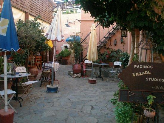 Pazinos Village Studios: χωρος στουντιο