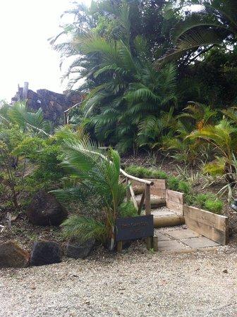 Lakaz Chamarel Exclusive Lodge: Accès à la plus belle suite