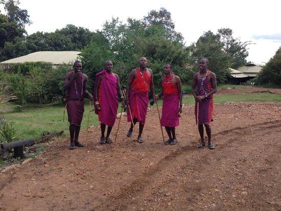 Olare Mara Kempinski Masai Mara: Welcome