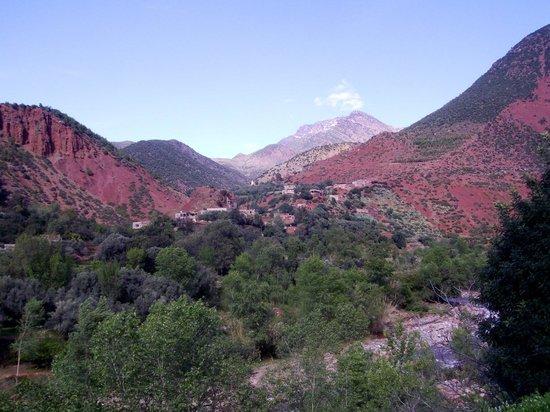 Setti Fatma et les 7 Cascades: village Berbère en descendant l'Ourika