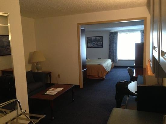 Quality Inn & Suites Albany Airport: View from the door