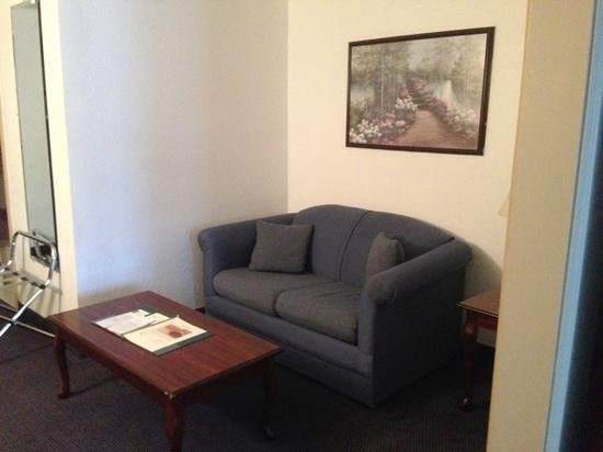 Quality Inn & Suites Albany Airport: Sleeper sofa