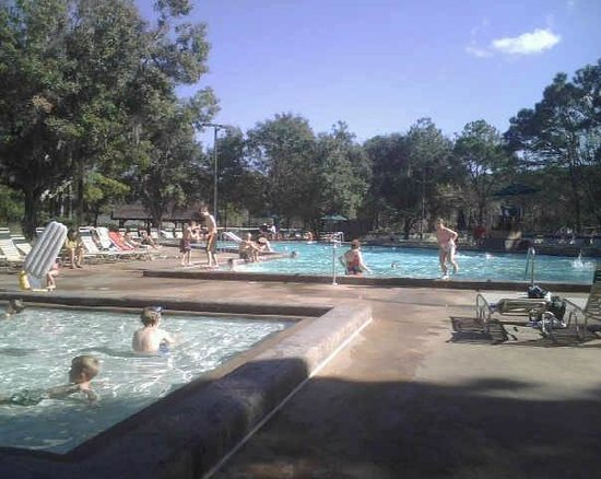 The Campsites at Disney's Fort Wilderness Resort: The swimming hole