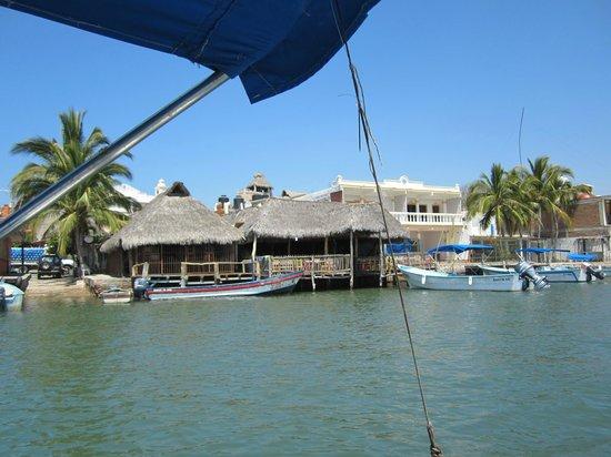 Barra Navidad: barra restaurants on the water