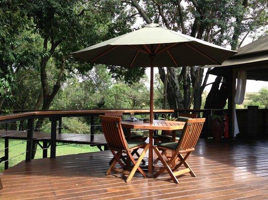 Olare Mara Kempinski Masai Mara: Restaurant Terrace