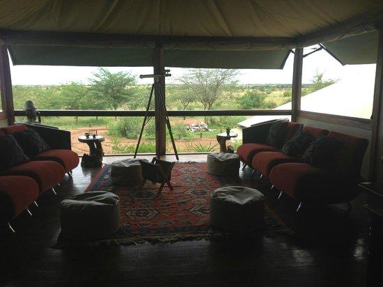 Olare Mara Kempinski Masai Mara: Library/Lounge