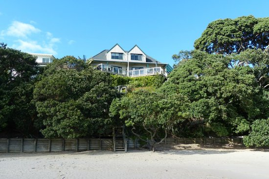 Beach Lodge vom Strand aus