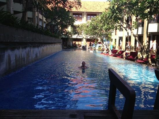 All Seasons Legian Bali: pool was always clean