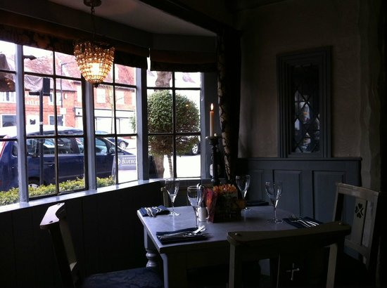 Bluebell: View from our table