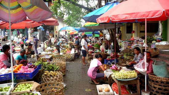 Marché traditionnel de Gianyar