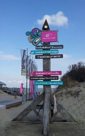 Center Parcs Port Zelande: Weg zum Strand
