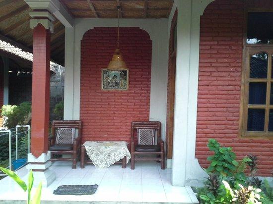 Hotel Angsoka: Room balcony