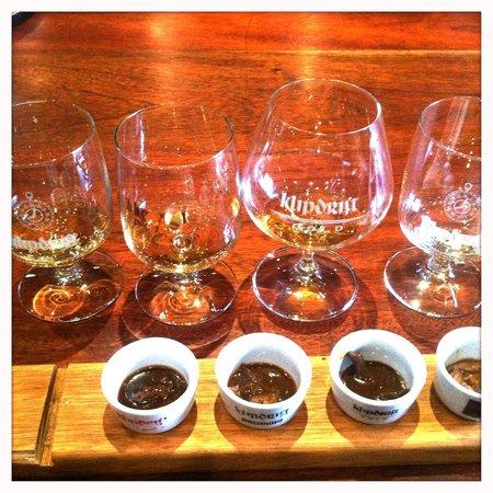 Klipdrift Distillery: Glass half full!