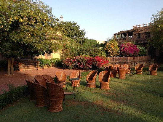 Fort Chanwa: morning sun