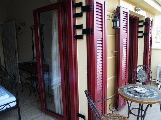 Greka Ionian Suites: Suite's Balcony