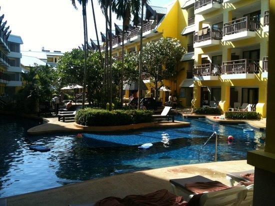Woraburi Resort Spa Phuket: en vy från vårt rum på hotellet