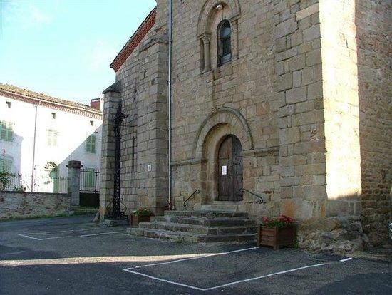 Champagnac-le-Vieux, ฝรั่งเศส: Champagnac le Vieux - Village Church