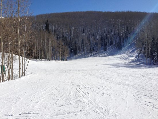 Canyons Village at Park City: wide open runs!