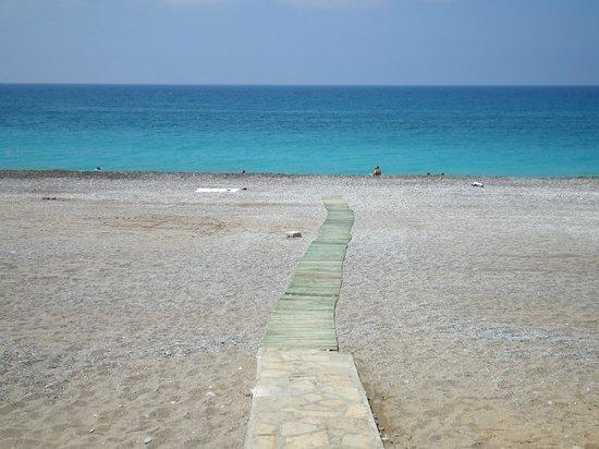 Aqua Plaza: plaża
