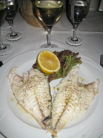 Don Camillo: Main: whole fish