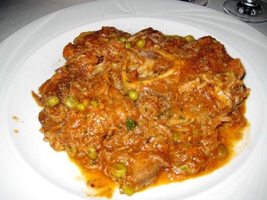 Don Camillo: Main: Lamb stew