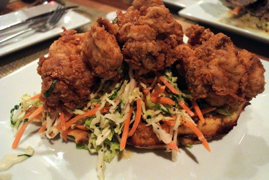 Coolinary Cafe: Southern Fried Chicken with Waffles