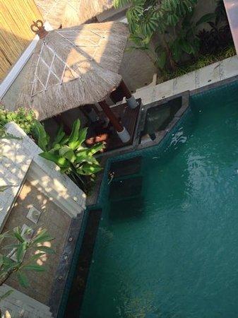 Ula Villa Bali-Villas : pool gazebo