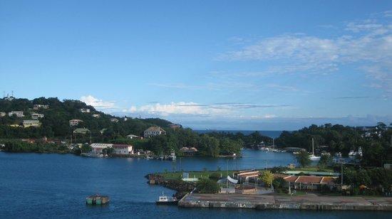 Morne Fortune: xme-Santa Lucía(islas de Barlovento Caribe).01