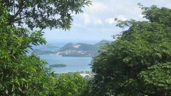 Morne Fortune: xme-Santa Lucía(islas de Barlovento Caribe).03