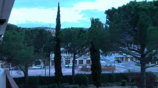 Hostal del Senglar : vista des de la terraza de habitación