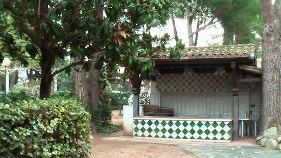 Hostal del Senglar : jardines