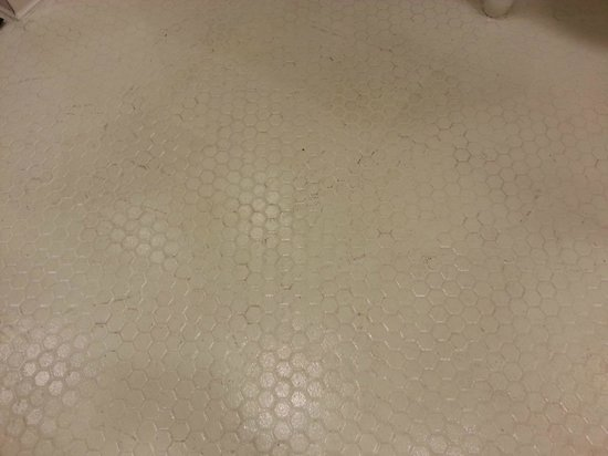 Main Lobby Bathroom Floor Never Cleaned Picture Of