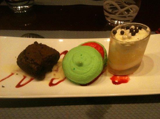 Le Train Gourmand: trio de desserts