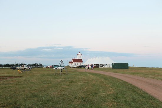 Northumberland Provincial Park: Next to the ferry in WoodIsland PEI