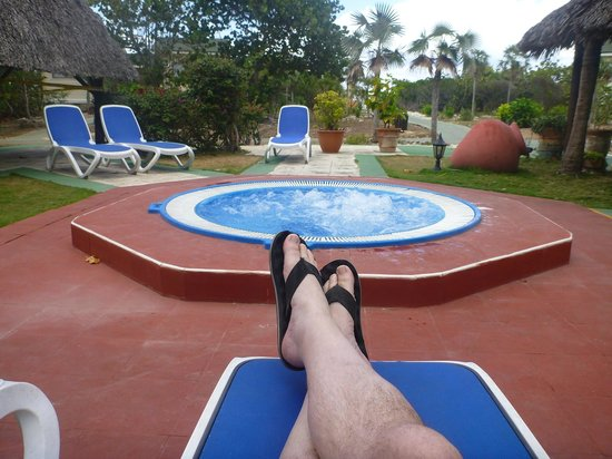 Sol Cayo Santa Maria: the hot tub that is cold