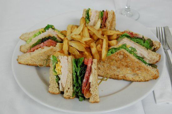 Schaefer's Canal House: Turkey Club