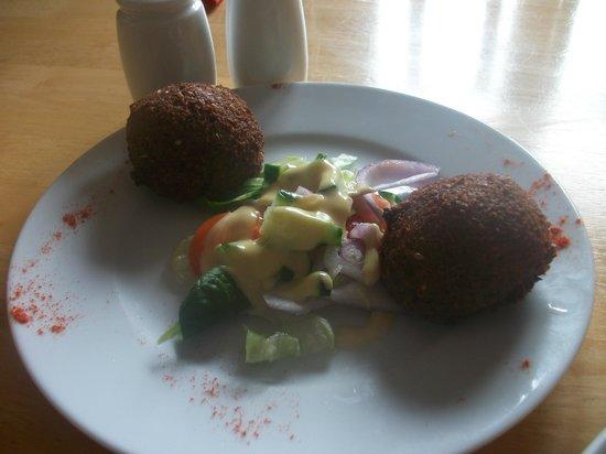 Aisha's Cafe & Bistro : Falafels
