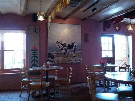 La Choza : Cow painting