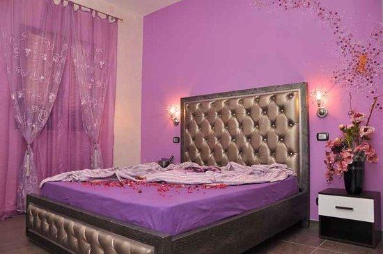 B&B Gioia del Salento : La Camera Ametista di Gioia del Salento è situata al piano superiore del nostro bed and brekfast