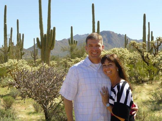Hacienda Linda: Desert Views