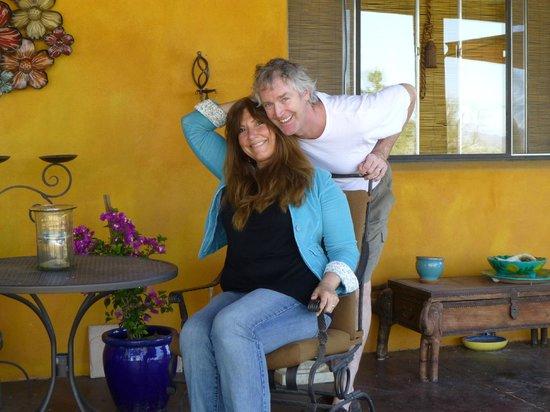 Hacienda Linda: The Fabulous Hosts!