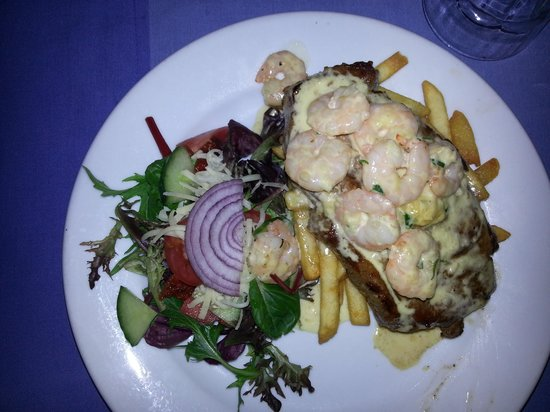 Denmark River Bistro: scotch fillet reef and beef