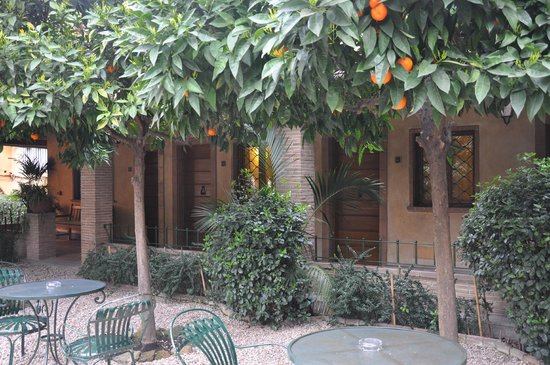 Hotel Santa Maria: il chiostro