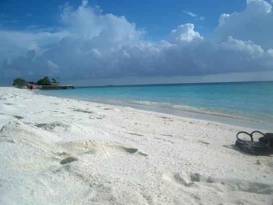 Jumeirah Vittaveli: spiaggia