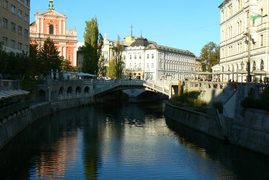 River Ljubljanica Kanal: canal do rio ljubjanica 2